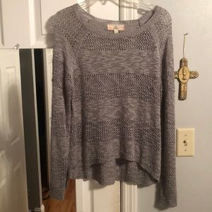 Pink Republic Grey Comfy Chill Sweater